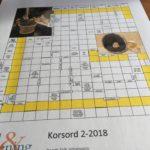 Korsord 2-2018